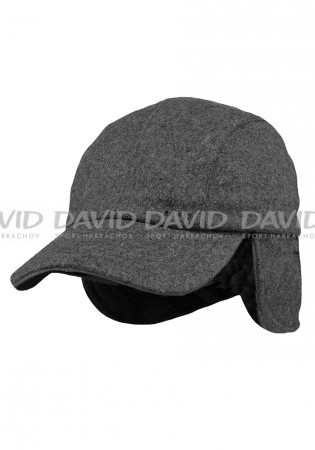detail Barts Active Cap dark heather