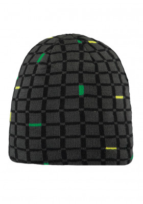 Men's hat Barts Gio Beanie charcoal