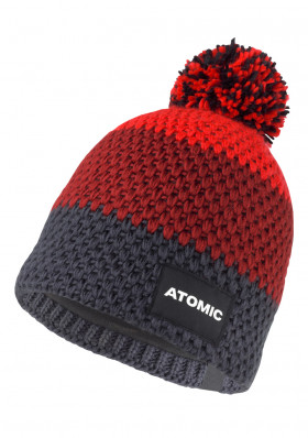 Atomic Racing Beanie-Red-Anthracite