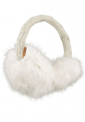 Eaumuffs Barts Fur Earmuffs White