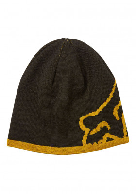 Men's cap Fox Streamliner Beanie BLACK/YELLOW