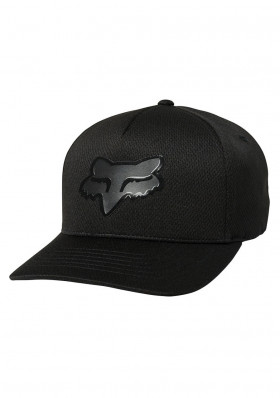 Fox Stay Glassy Flexfit Hat Black