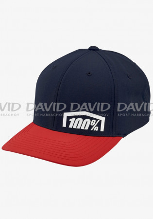 detail CAP 100% REVOLT X-Fit FlexFit®Hat Red
