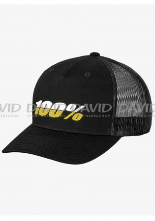 detail CAP 100% LEAGUE X-Fit Snapback Hat Black