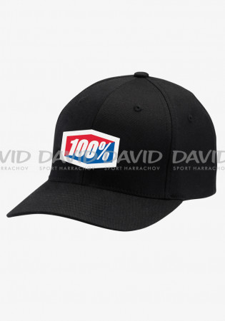 detail CAP 100% OFFICIAL X-Fit FlexFit®Hat Black