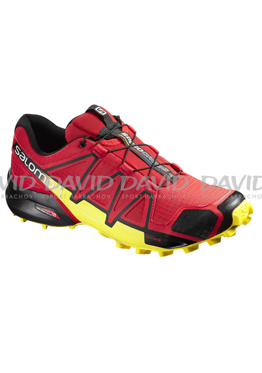 Men's running shoes Salomon Speedcross 4 Radiant Red/Black/Yellow