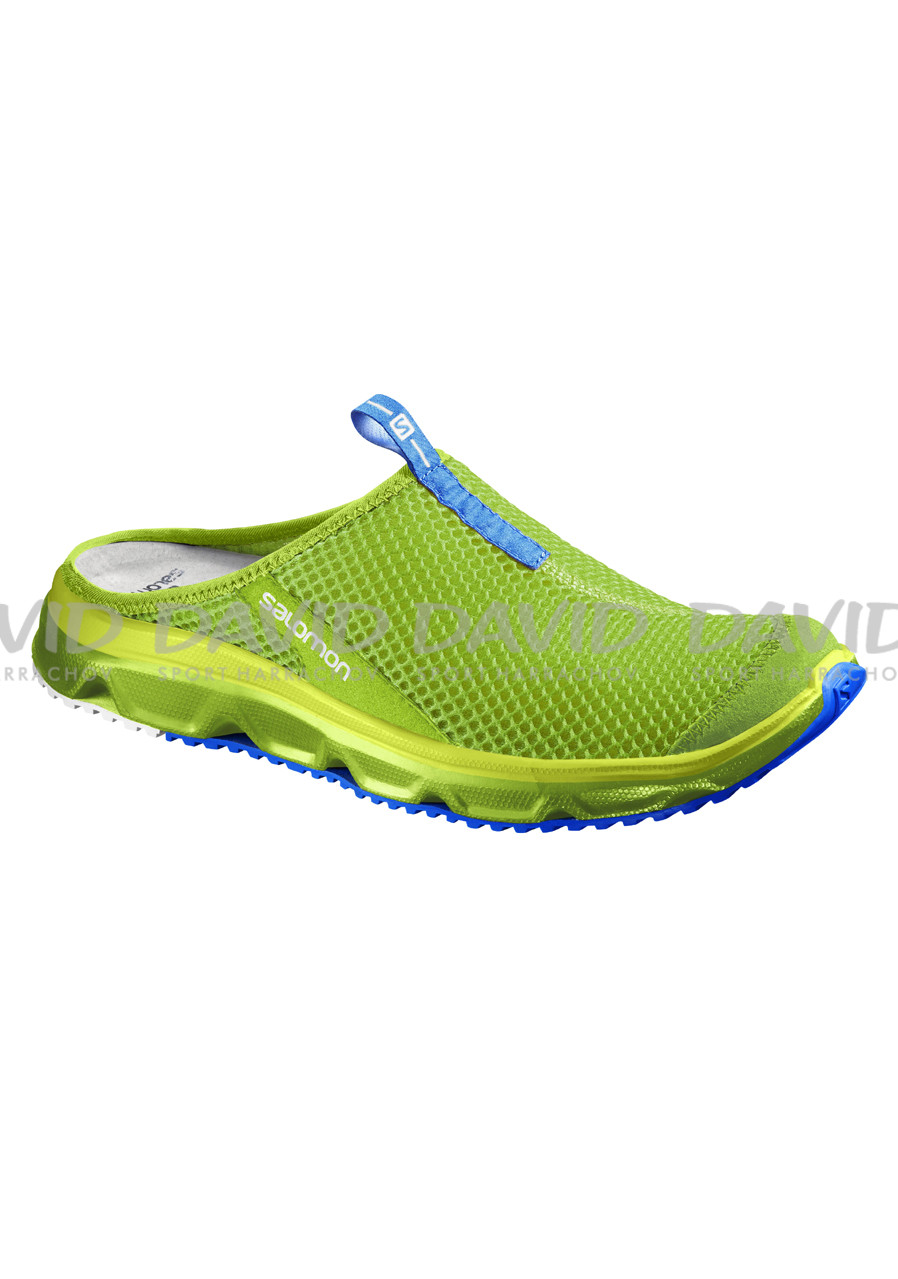 SALOMON RX SLIDE 3.0 GRANNY GREEN/GR/BL Men's clogs