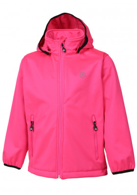 Children's jacket Color Kids Ralado softshell Candy Pink