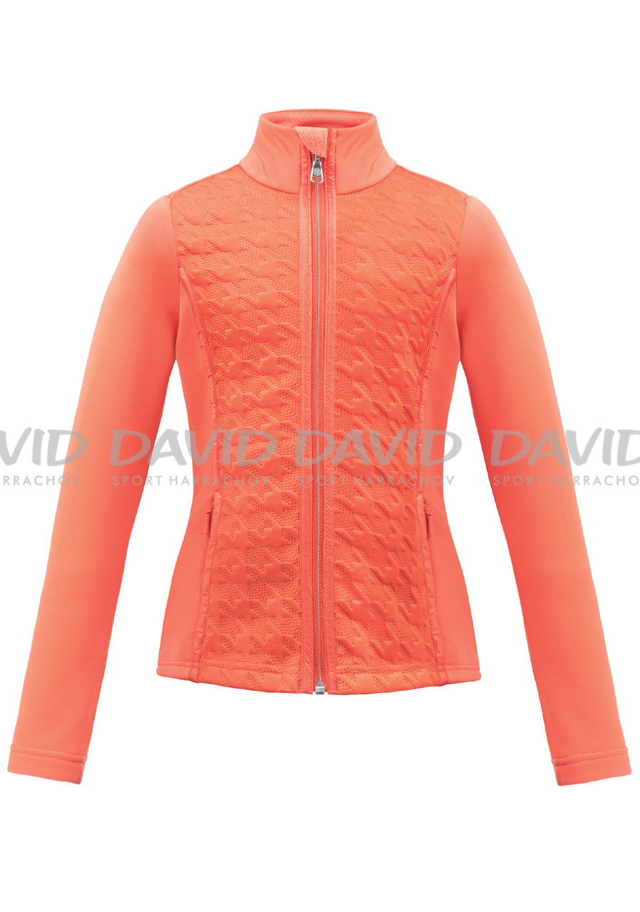 Children's sweatshirt POIVRE BLANC W17-1602-JRGL Fleece F.Orange