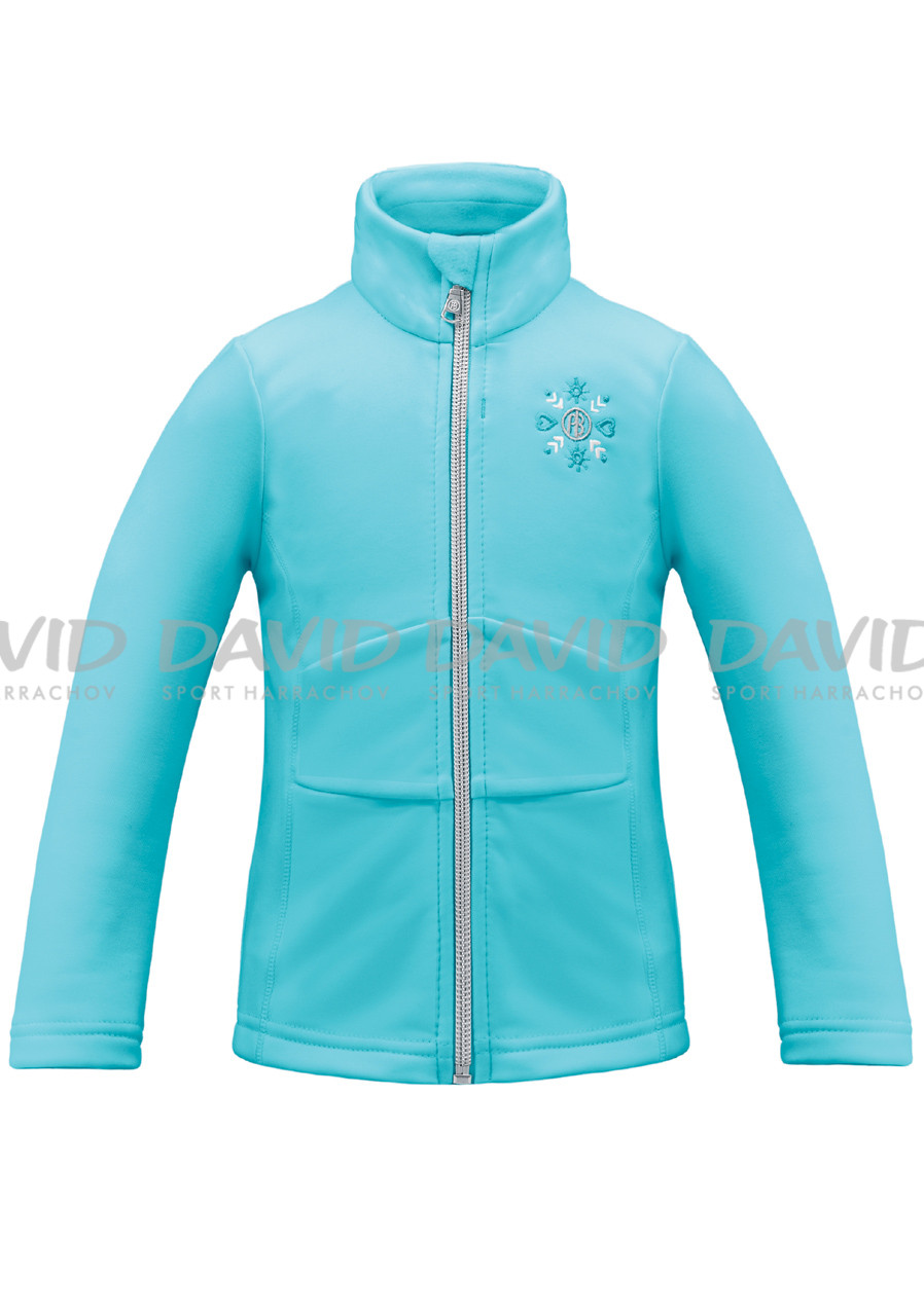 detail Children's sweatshirt POIVRE BLANC W17-1700-BBGL Stretch Fleece Azure Blue