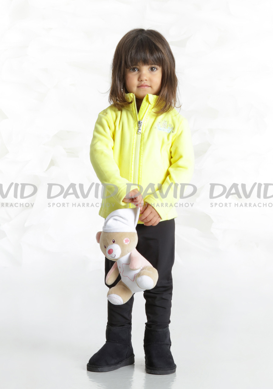 Children's sweatshirt Poivre Blanc W18-1500-BBGL Fleece Jacket empire yellow