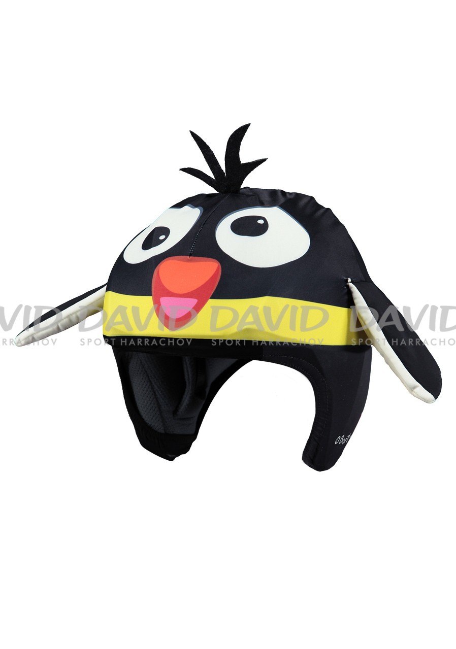 Cover for children's ski helmet Barts 3D PENGUIN