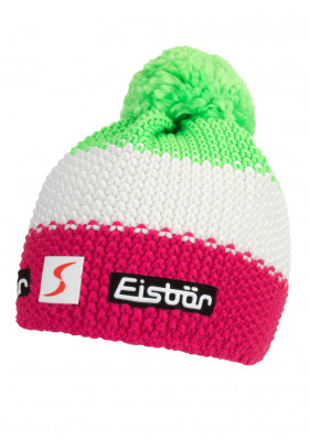 Kids winter hat EISBAR STAR NEON POM KIDS 942
