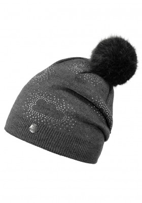 Children's hat BARTS GLOW BEANIE DARK HEATHER