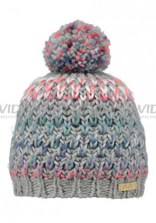 detail Children hat BARTS NICOLE BEANIE GIRLS HEATHER GREY