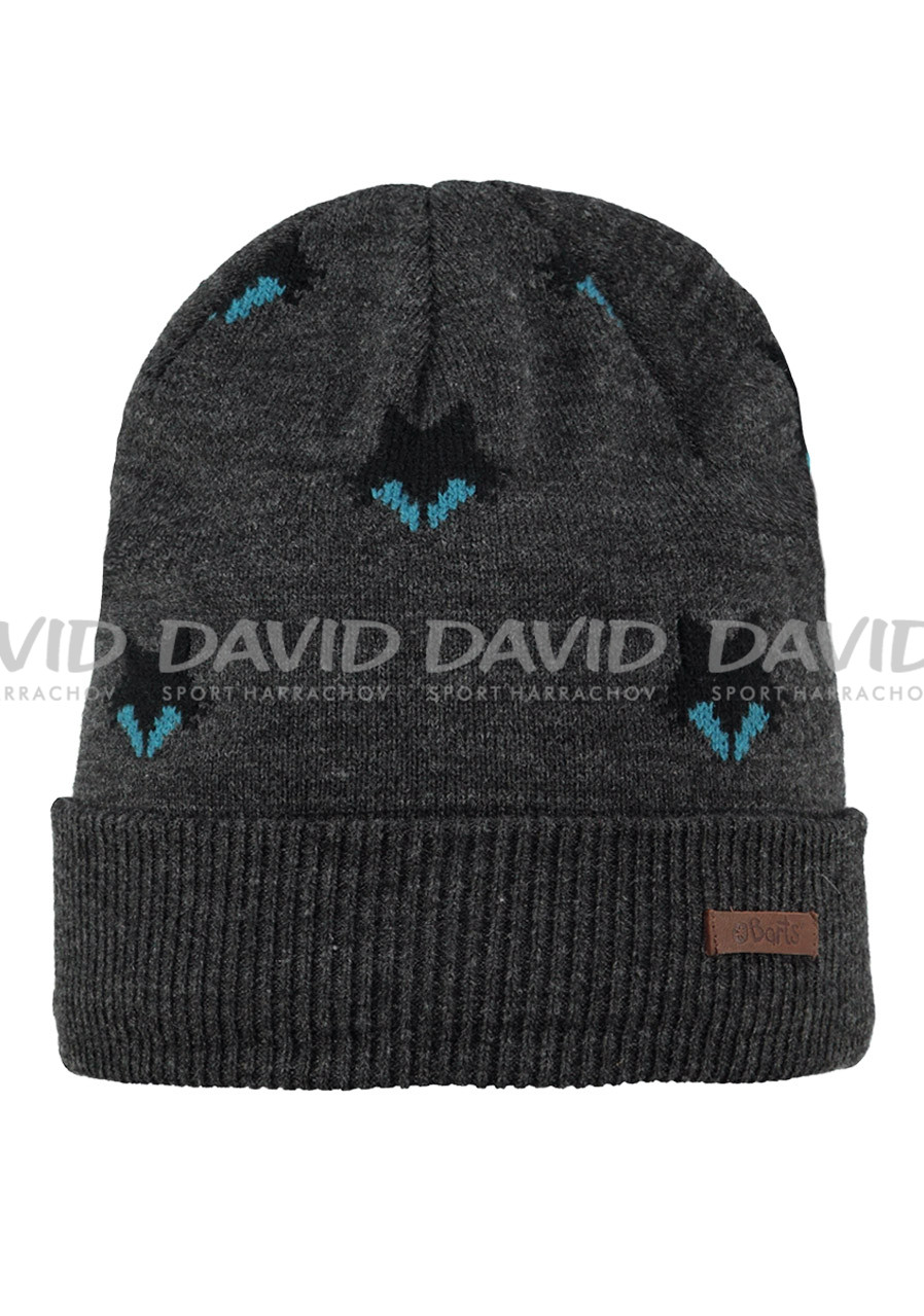 náhled BARTS ULF BEANIE DARK HEATHER