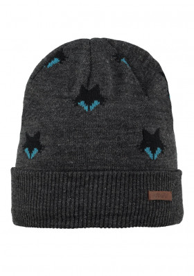 Children hat BARTS ULF BEANIE DARK HEATHER
