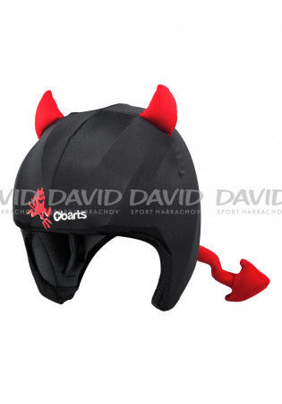 detail Cover for children's ski helmet Barts Helmet Covers little devil