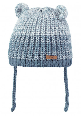 Kids knitted hat Barts Stids Inka blue