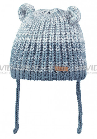 detail Kids knitted hat Barts Stids Inka blue