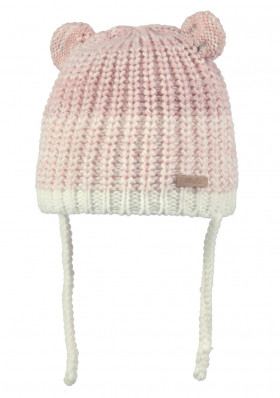 Kids knitted hat Barts Stids Inka cream