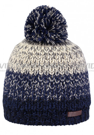 detail Kids knitted hat Barts Lester blue