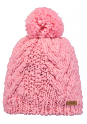 Kids knitted hat Barts Vivara pink
