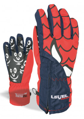 Children ski gloves LEVEL LUCKY Glove Blue