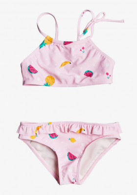 Roxy ERLX203100-MDA6 LOVELY ALOHA CROP TOP SET
