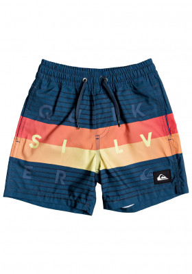 Quiksilver EQKJV03106-BSM6 WORD BLOCK VOLLEY BOY 12