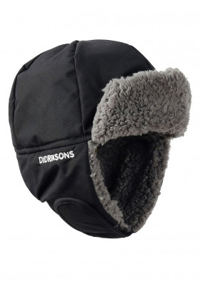Children's hat Didriksons Biggles Black