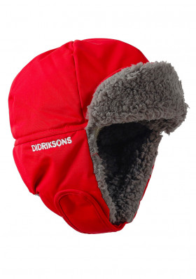 Children's hat Didriksons Biggles Red