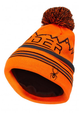 Spyder-197152-824 ICEBOX-Hat-bryte orange