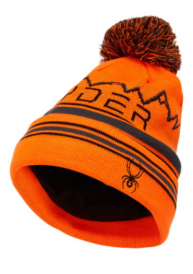 Spyder-197174-824 ICEBOX-Hat-bryte orange