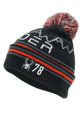 Spyder Boys Icebox Hat Black/Red