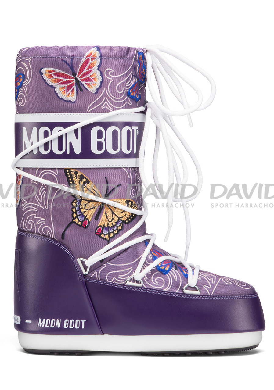 detail Children's winter shoes TECNICA Moon Boot JR BUTTERFLY VIOLET
