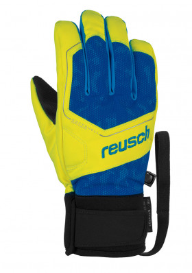 Reusch Torby R-TEX® XT Junior SURFWEB/SFTYELL/BRILBL