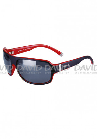 detail Casco SX-61 Bicolor Black/red Sunglasses