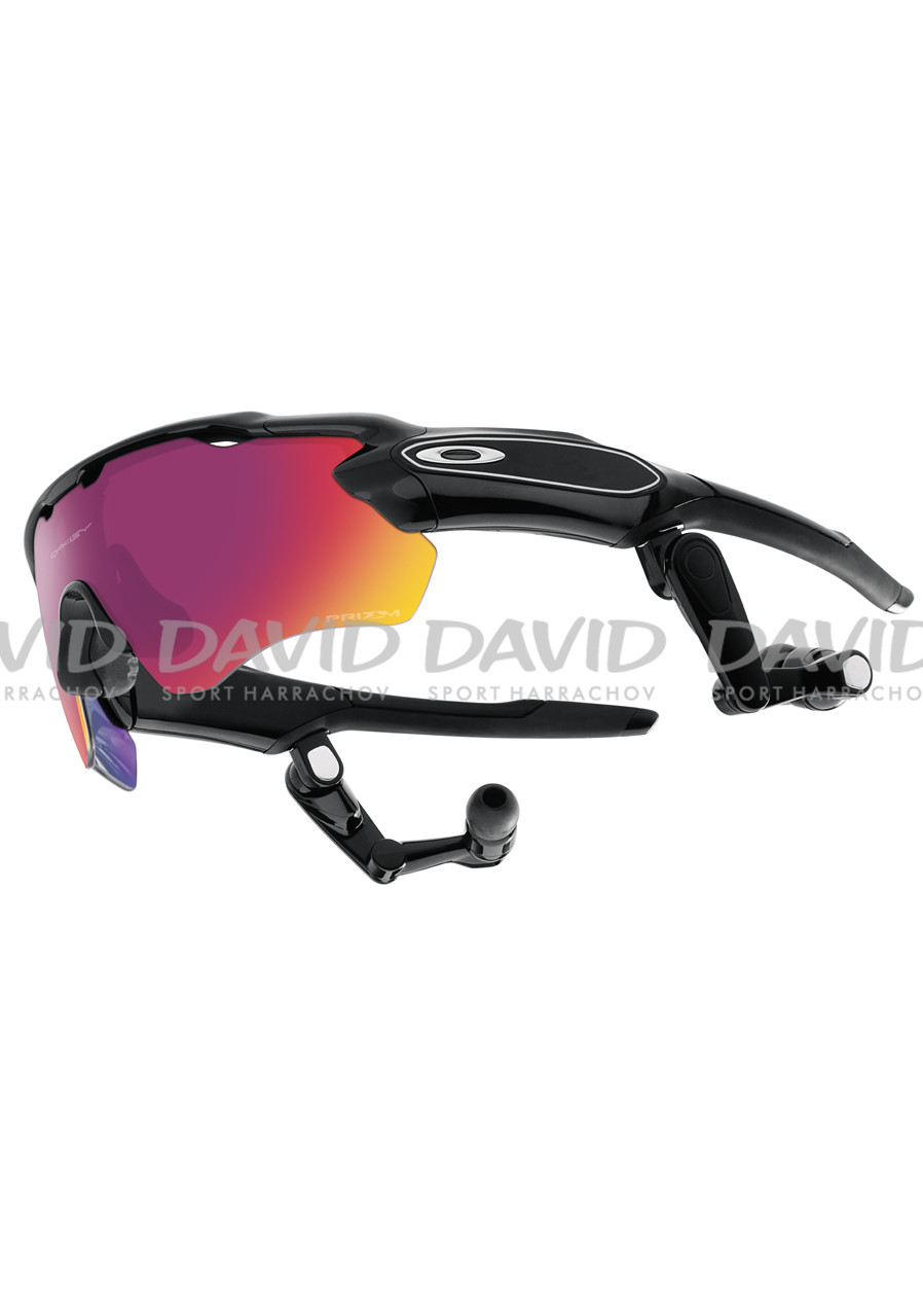 oakley stanley shorts cvg6  OAKLEY 9333-01 Radar Pace Polished Black/Prizm Road&Clear