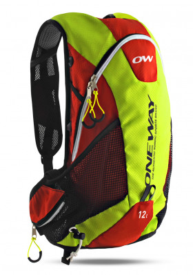 One Way Run Hydro Backpack Yellow/Red