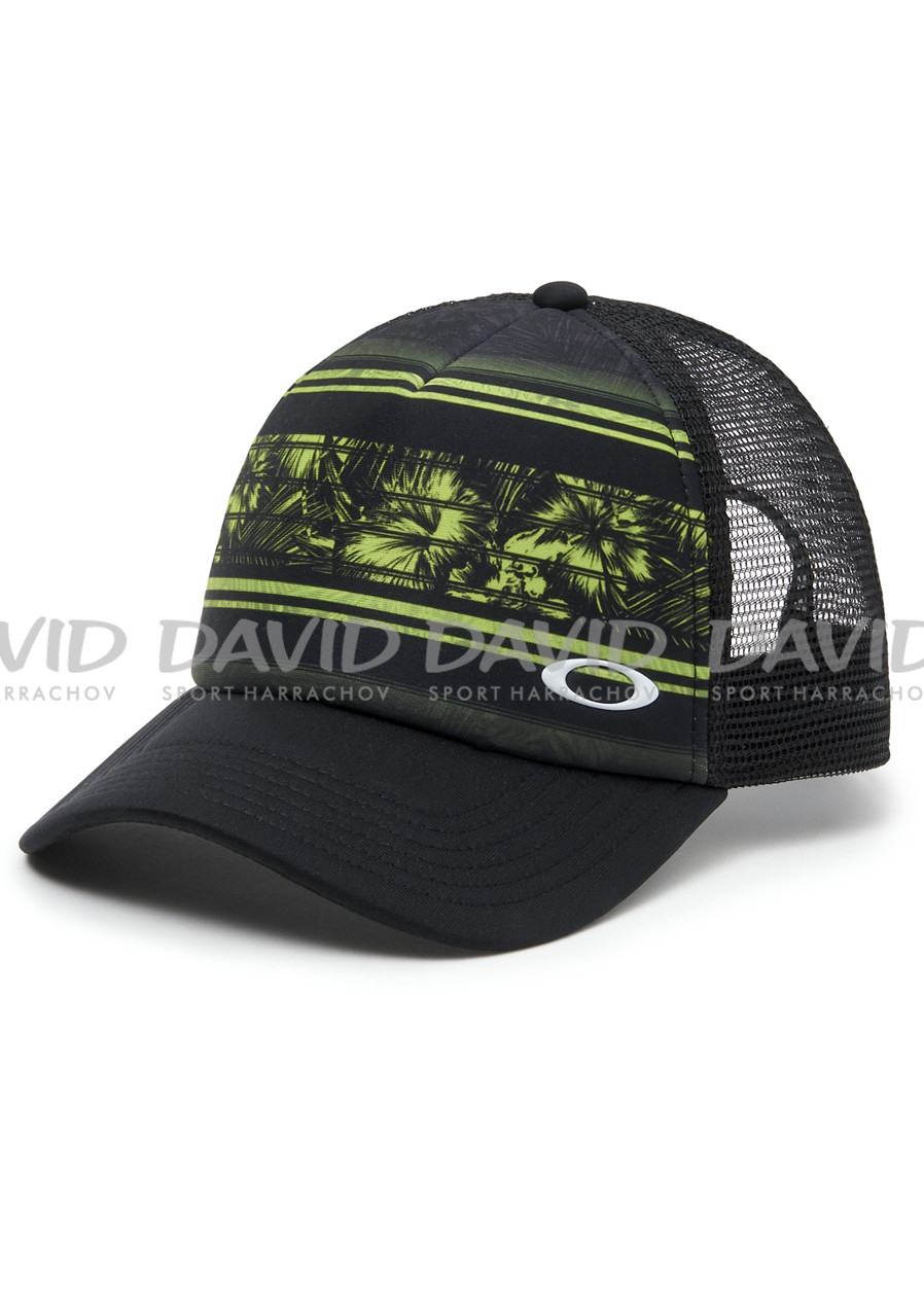 detail Cap Oakley Mesh Sublimated Trucker Update Lime Green