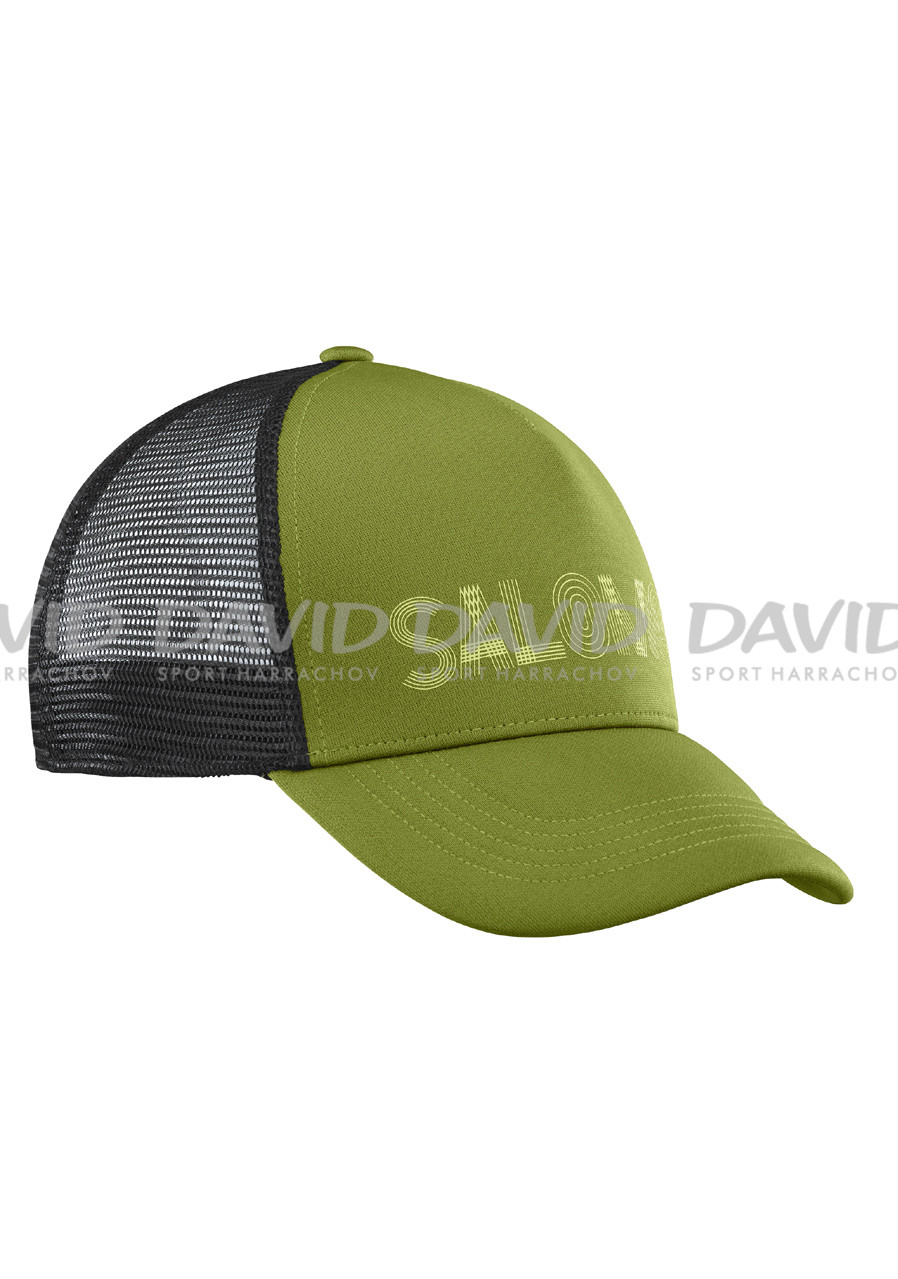 Salomon Summer Logo Cap M-Avocado-Blac
