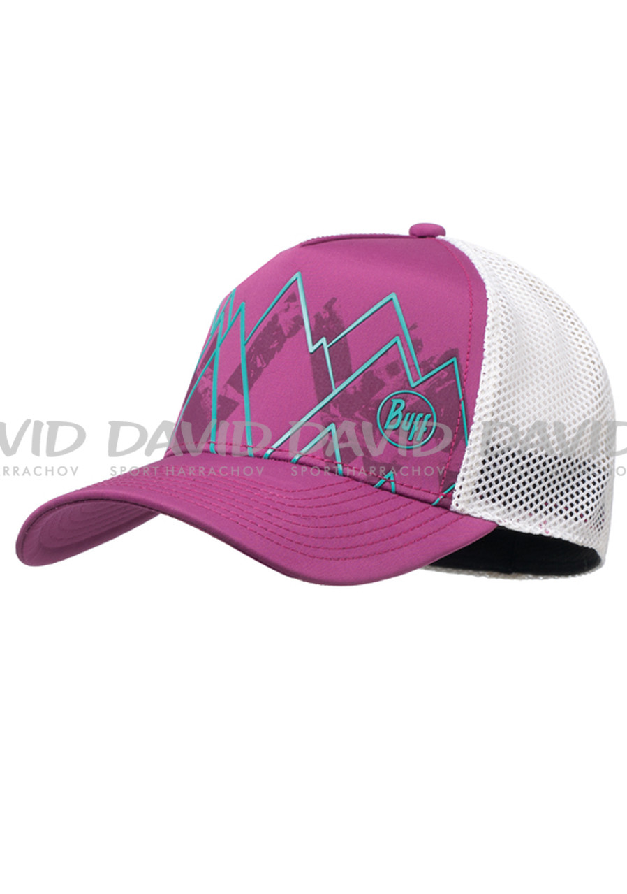 Buff Trucker Tech Cap Solid Violet S/M