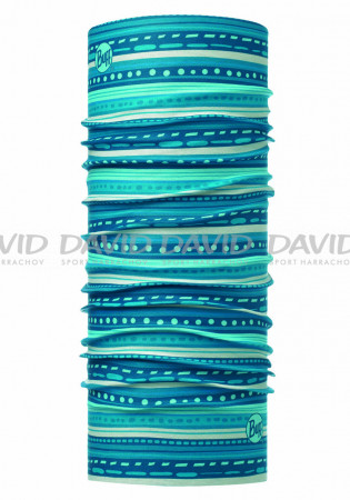 detail Scarf Buff Child 115481 Frill Turquoise