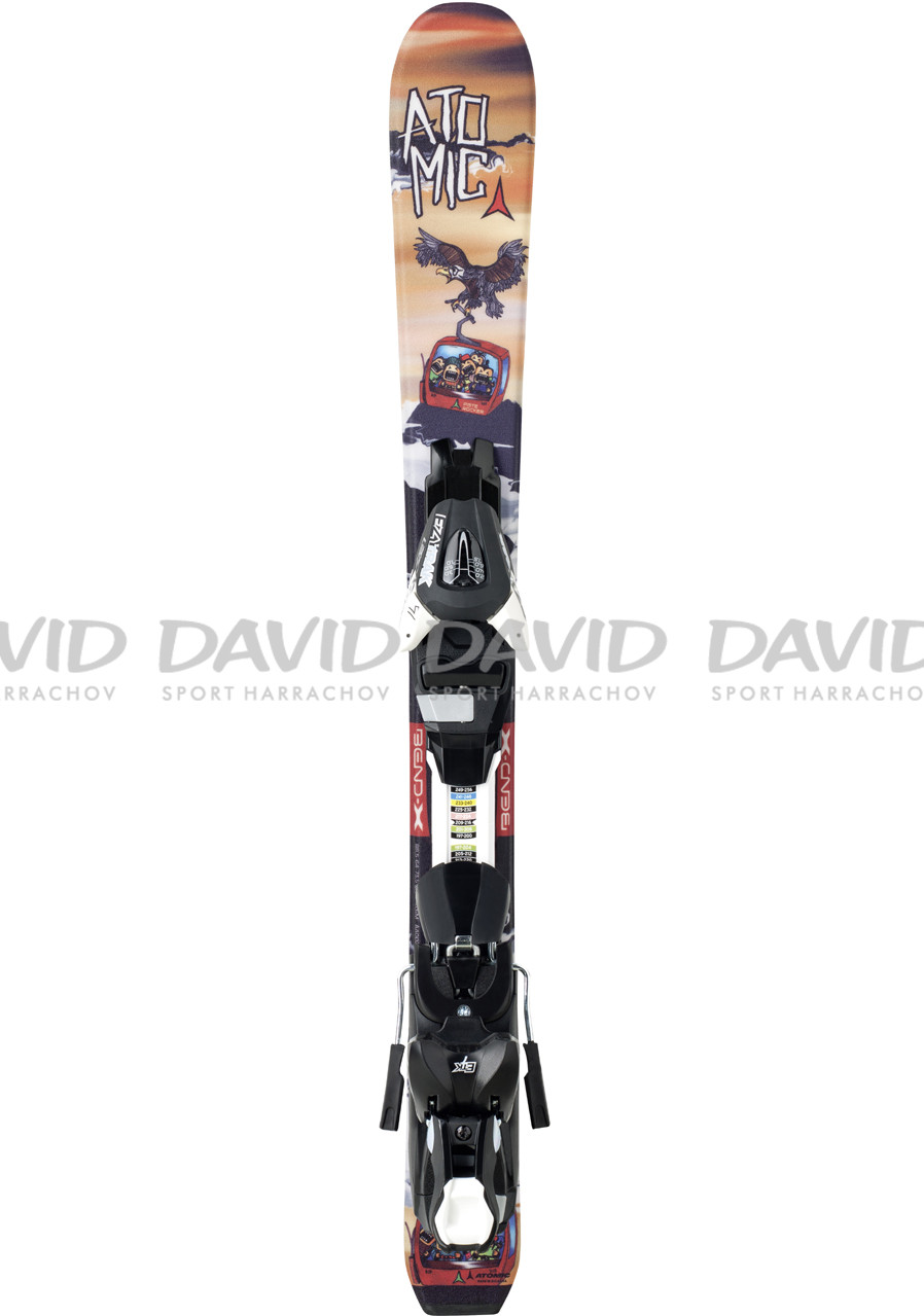 ATOMIC RASCAL JR I + EZY 5-14/15 Downhill skis