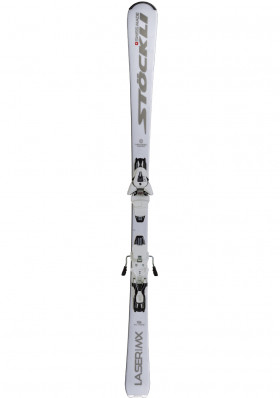 Downhill skis Stockli Laser MX-ZI + MC 11 white