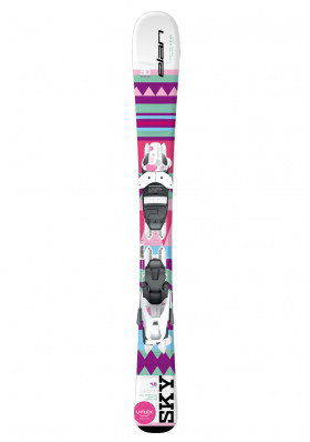 Children's downhill skis Elan Sky QS, EL 4.5 binding