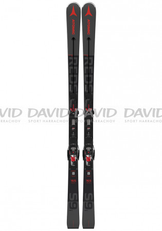 detail Men's downhill skis Atomic REDSTER S9i + X 12 GW Black / Red