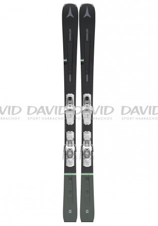 detail Women's downhill skis Atomic Vantage Wmn 80 Ti + M 10 Gw Anthracite / M