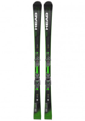 Men's downhill skis Head Supershape e-Magnum SW SF-PR + PRD12 GW
